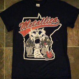 Metallica MN Concert Tour T-Shirt Sz SM
